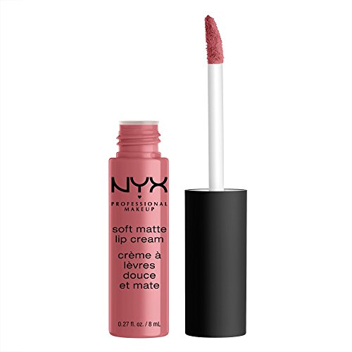 NYX - NYX PROFESSIONAL MAKEUP Soft Matte Lip Cream, Beijing, 0.27 Ounce