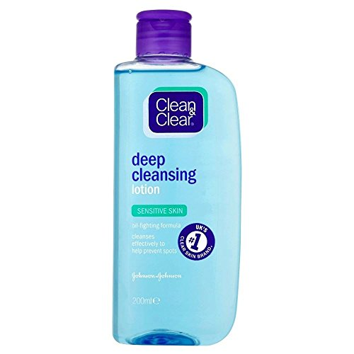 Clean & Clear - Clean & Clear Deep Cleansing Lotion - Sensitive (200ml) - Pack of 2