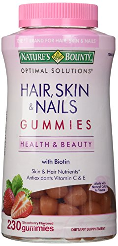 Nature's Bounty - Nature's Bounty Hair Skin and Nails, 230 Gummies