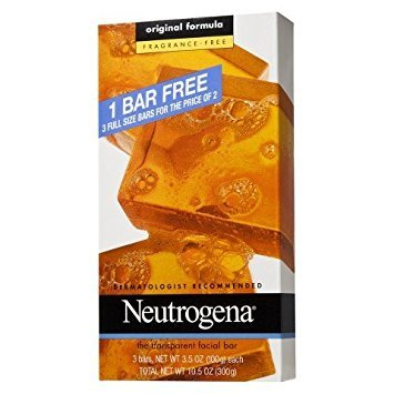 Neutrogena - Transparent Soap Bar