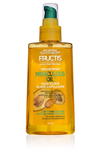 Garnier - Fructis Triple Nutrition Marvelous Oil Hair Elixir