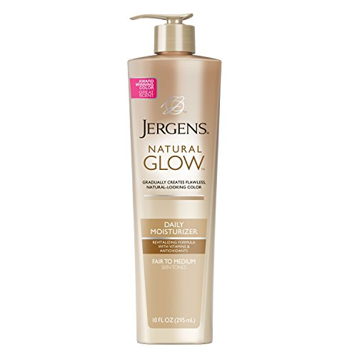 Jergens - Jergens Natural Glow Daily Moisturizer for Body, Fair to Medium Skin Tones, 10 Ounce Pump