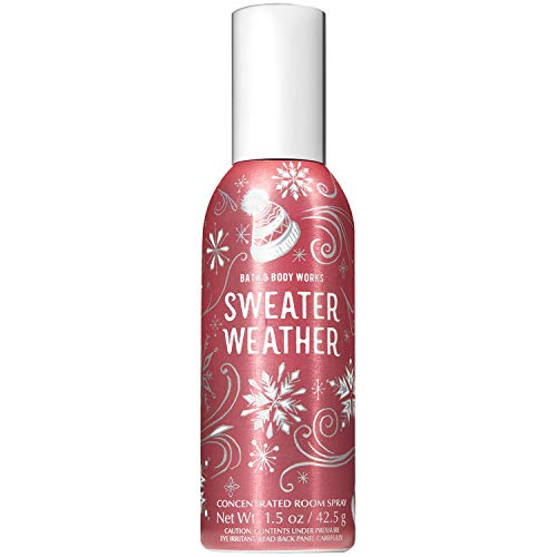 Bath & Body Works - Bath and Body Works Sweater Weather Concentrated Room Spray 1.5 Ounce (2018 Edition)