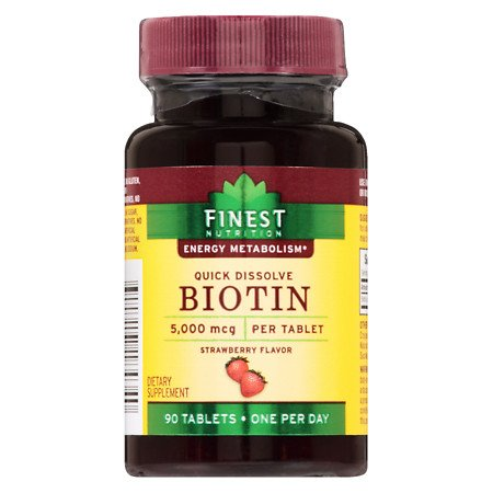 Finest Products - FINEST BIOTIN 5000MG 90 TABLETS