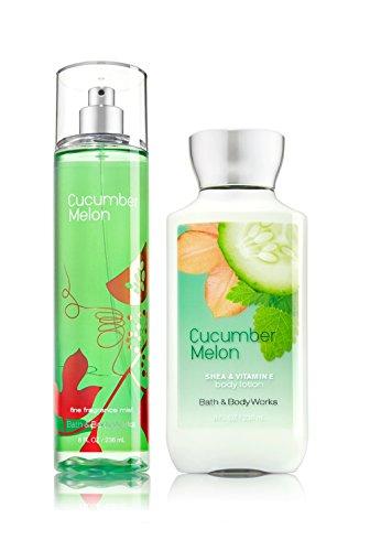 Bath & Body Works - Bath & Body Works Cucumber Melon Mist & Cucumber Melon Lotion Gift Set