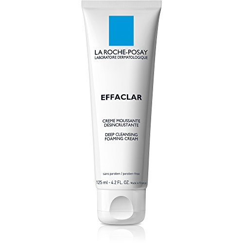 La Roche-Posay - La Roche-Posay Effaclar Deep Cleansing Foaming Cream Cleanser, 4.2 Fl. Oz.