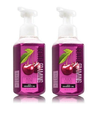 Bath & Body Works - Bath and Body Works Gentle Foaming Hand Soap, Black Cherry Merlot 8.75 Ounce (2-Pack)