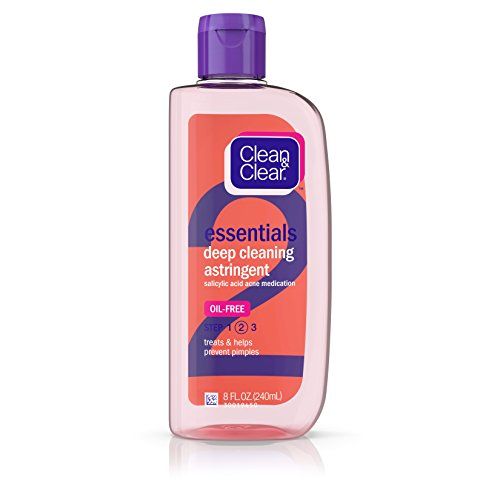 Clean & Clear - Clean & Clear Essentials Oil-Free Deep Cleaning Facial Astringent with Salicylic Acid