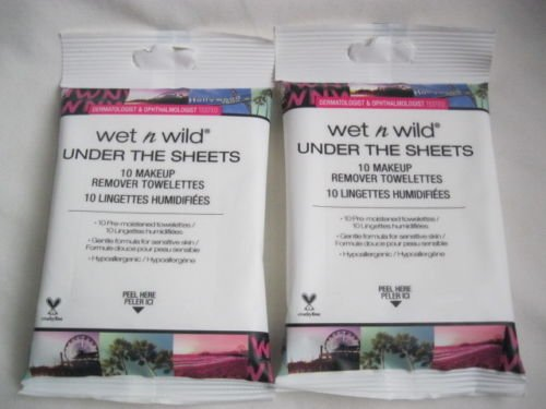 Wet 'n Wild - Under the Sheets Makeup Remover Towelettes