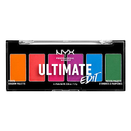NYX Ultimate Edit Petite Shadow Palette, Bright's