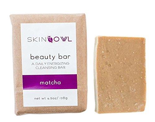 Skin Owl All Natural/Vegan Matcha Beauty Bar