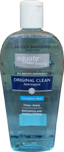 Equate - Original Clean Astringent for Sensitive Skin 10oz By Equate, Compare to Sea Breeze Astringent
