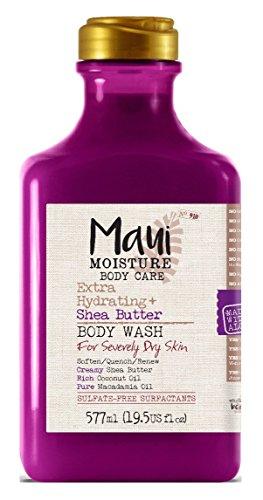 Maui Moisture - Maui Moisture Body Wash Shea Butter 19.5 Ounce (577ml) (3 Pack)