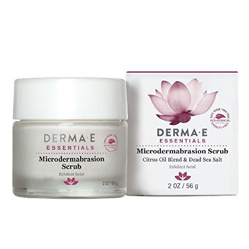 derma e - DERMA E Microdermabrasion Scrub with Dead Sea Salt 2oz