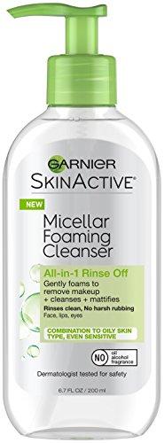 Garnier - SkinActive Micellar Foaming Face Wash for Oily Skin