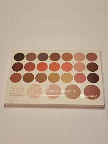 BH Cosmetics - Eyeshadow Blush Palette, Nouveau Neutrals