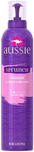 Aussie - Aussie Sprunch Mousse 24 Hour Curl Lock, Flexible Hold 6.80 oz