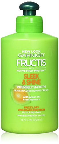 Garnier - Garnier Fructis Sleek & Shine Intensely Smooth Leave-In Conditioning Cream 10.2 oz (Pack of 2)