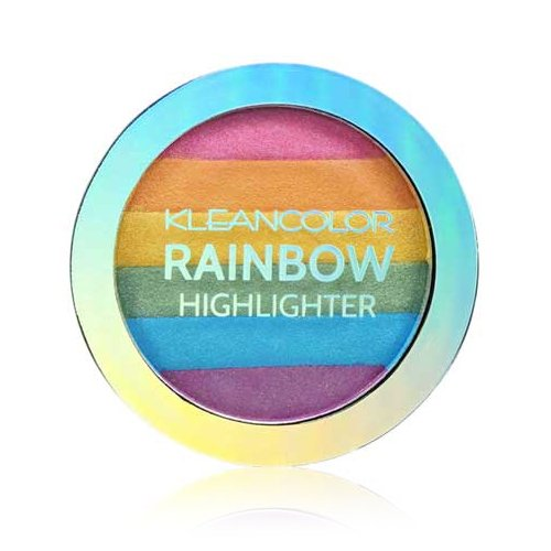 Kleancolor - Kleancolor 6 Color Contour Shading Powder Face Highlighter Rainbow Highlighter
