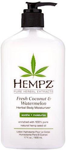 Hempz - Hempz Herbal Body Moisturizer, Pearl White, Fresh Coconut/Watermelon, 17 Ounce