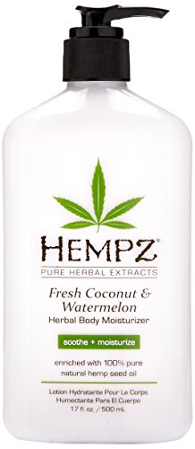 Hempz - Hempz Herbal Body Moisturizer, Pearl White, Fresh Coconut/Watermelon, 17 Ounce