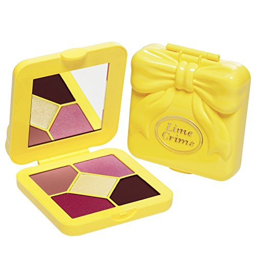 Lime Crime - Lime Crime Pocket Candy Eyeshadow Palette (Pink Lemonade) - 90's Style Eyeshadow Palette with 5 Full Sized Colors.