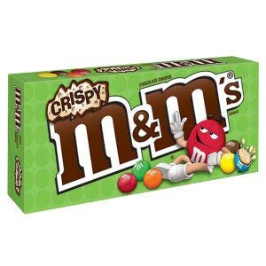 Mars M&M Milk Chocolates - M&M's Crisp Milk Chocolate Theater Box 3 Oz. (1 Per Order)