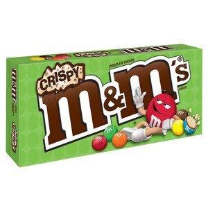 Mars M&M Milk Chocolates - M&M's Crisp Milk Chocolate Theater Box 3 Oz. (1 Per Order)