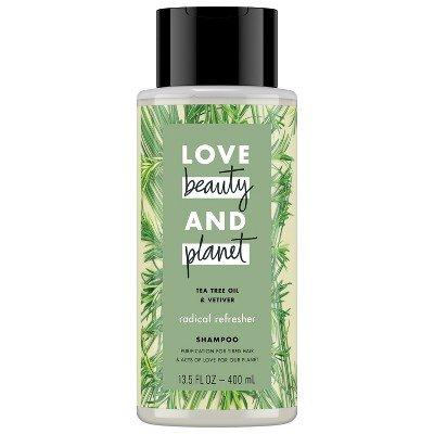 Love Beauty And Planet - Shampoo, Tea Tree Oil and Vetiver