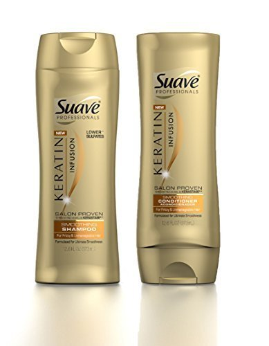Suave - Suave Professionals Keratin Infusion Smoothing Shampoo & Conditioner, 12.6 Ounce