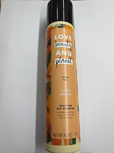 Love Beauty And Planet - Love Beauty and Planet Shampoo for Unisex, Citrus Peel Uplifting Dry, 4.3 Ounce