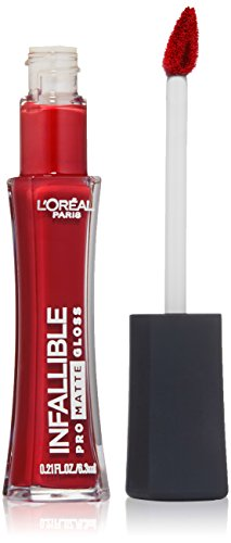 L'Oreal Paris - Infallible Lip Pro Matte Gloss, Shanghai Scarlet