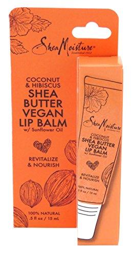 Shea Moisture - Shea Moisture Lip Balm Coconut & Hibiscus 0.5 Ounce (15ml) (3 Pack)
