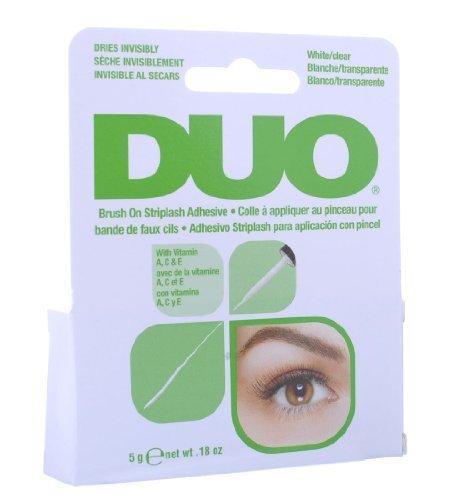 Duo - Brush On Striplash Adhesive White/Clear