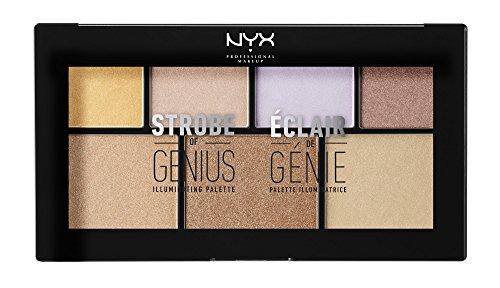 NYX Makeup Strobe, Genius Illuminating Palette
