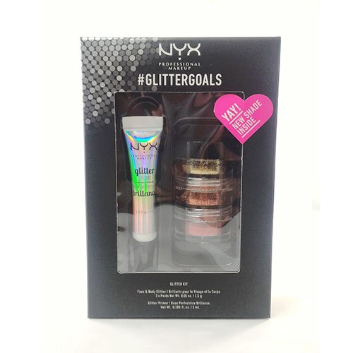 NYX - NYX PROFESSIONAL MAKEUP Glitter Goals Kit No. 2