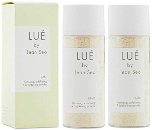 LUE by Jean Seo Lue By Jean Seo Erase Cleansing Exfoliating & Brightening Powder, Set of 2