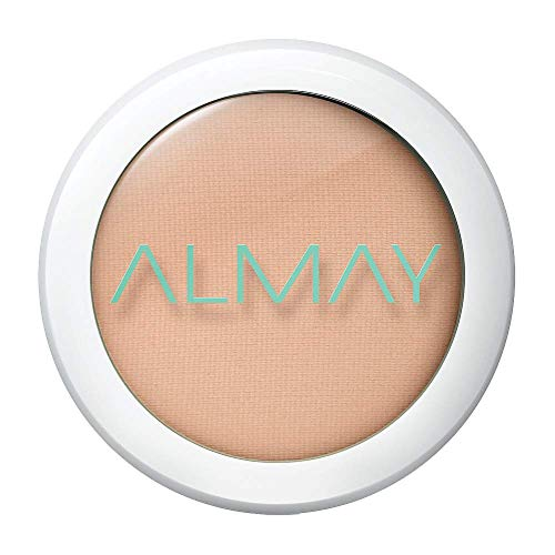 Almay - Almay Clear Complexion Pressed Powder, Light/Medium, 0.28 ounce