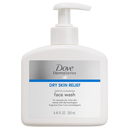 Dove - Dove DermaSeries Fragrance-Free Face Wash, for Dry Skin 8.45 oz, 2 ct