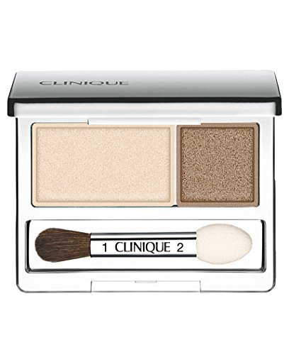Clinique - Clinique All About Shadow Duo, shade=Ivory Bisque/Bronze Satin