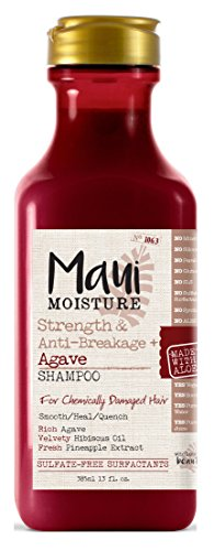 Maui Moisture - Shampoo Agave 13 Ounce (Strength & Anti-Break)