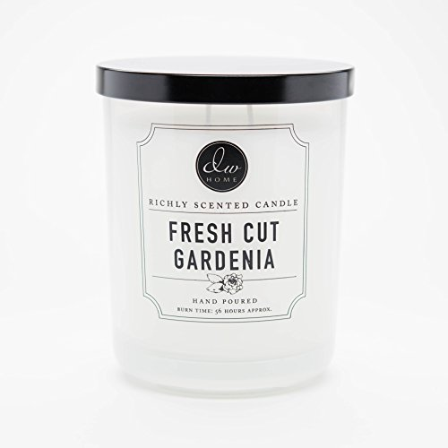 DW Home - Large Double Wick Candle, Fresh Cut Gardenia