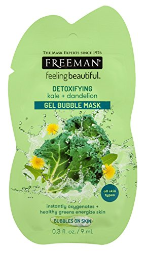 Freeman - Facial Kale+Dandelion Detoxifying Gel Mask