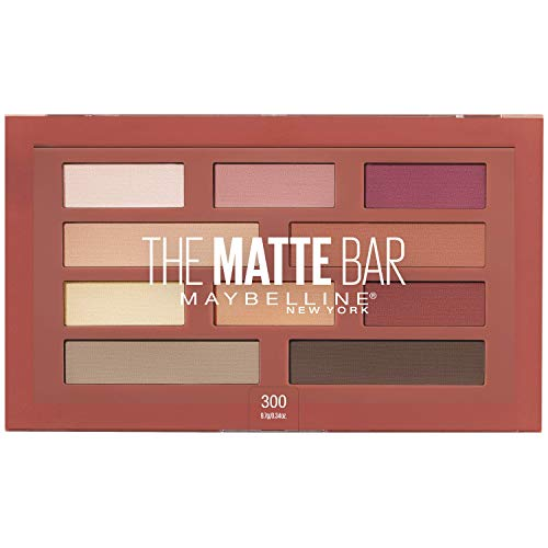 Maybelline New York - Maybelline New York The Matte Bar Eyeshadow Palette Makeup, 0.34 Ounce