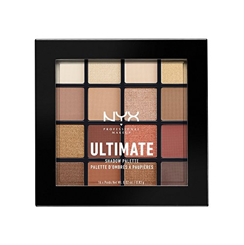 NYX - Ultimate Shadow Palette, Warm Neutrals