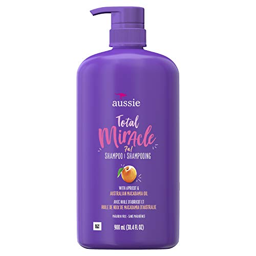 Aussie Aussie Total Miracle Shampoo, 30.4 Fluid Ounce (Pack of 4)