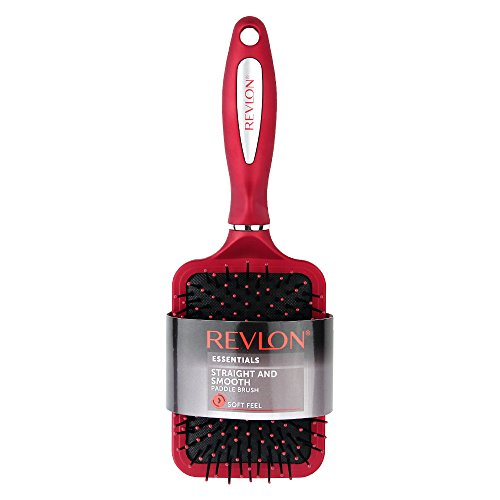 Revlon - Revlon Straight & Smooth Red Paddle Hair Brush