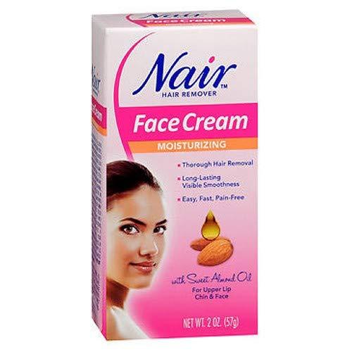 Nair - Nair Hair Remover Face Cream 2 Ounce (59ml) (2 Pack)