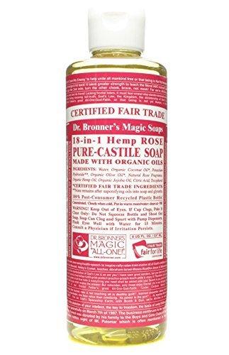 Dr. Bronner's - Dr Bronner - Rose Castile Liquid Soap | 236ml