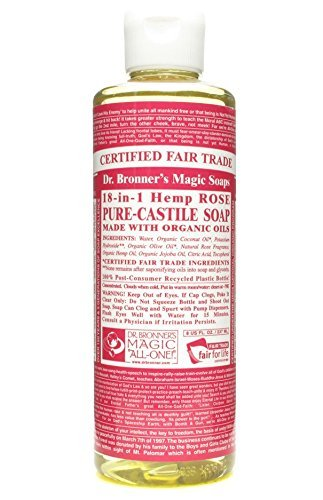 Dr. Bronner's - Dr Bronner - Rose Castile Liquid Soap | 236ml